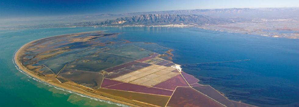 Extraction et production de sel marin